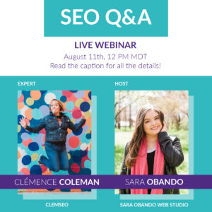 Free SEO Webinar with Top SEO Consultant and Branding Expert, Clem Coleman of ClemSEO